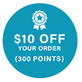 $10 Off Your Order (300 Points)