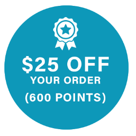$25 Off Your Order (600 Points)